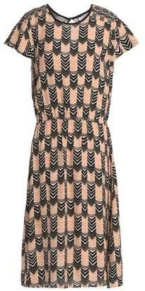 Velvet by Graham & Spencer Printed Crepe Dress