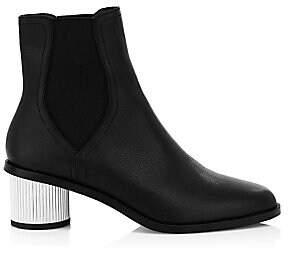 Rebecca Minkoff Women's Darsea Cylinder Heel Leather Booties