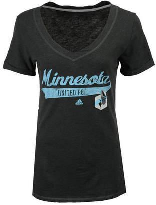 adidas Women's Minnesota United Fc Tail Stack T-Shirt