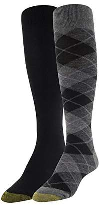 Gold Toe Women's Winter Plaid and Flat Knit Knee Highs