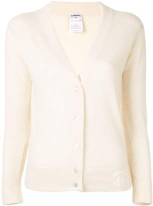 Chanel Pre-Owned v-neck cashmere cardigan
