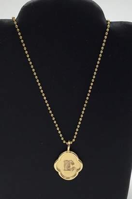 Lotus Jewelry Studio Wax Stamp Initial-Necklace