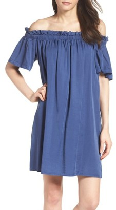 Women's French Connection Stayton Off The Shoulder Dress $98 thestylecure.com