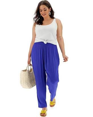 1a37127e9d Fashion World Elastic Waist Trousers For Women - ShopStyle UK