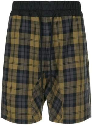 Bassike checked bermuda shorts