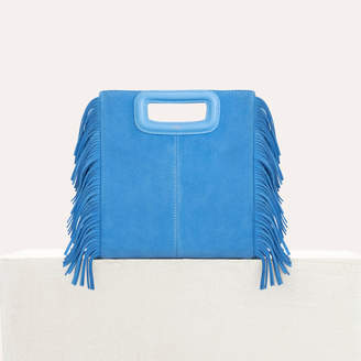 Maje M bag with suede fringes