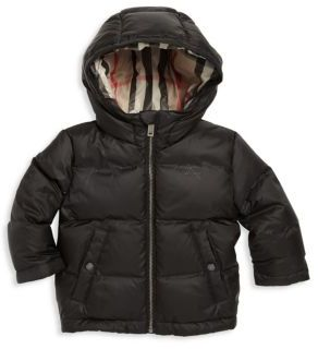 Burberry Baby's & Toddler Boy's Rio Down Puffer Jacket $250 thestylecure.com