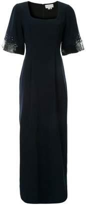 Sachin + Babi square-neck sequin dress