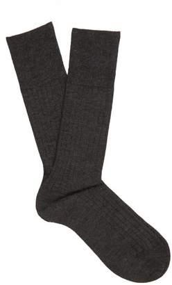 Falke N2 Cashmere Blend Socks - Mens - Grey