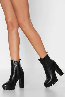 Nasty Gal Too Big for Your Heeled Boot