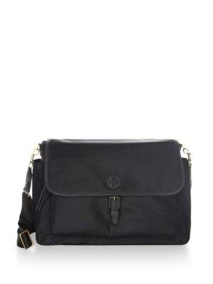Tory Burch Scout Messenger Baby Bag