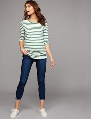 Joe's Jeans Secret Fit Belly Markie Crop Maternity Jeans
