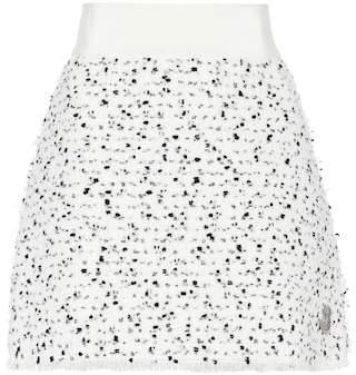 Moncler Gamme Rouge Russell wool-blend tweed skirt