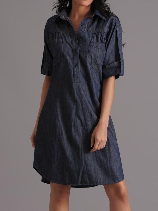 Genetic Denim Addison Shirt Dress