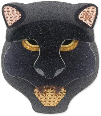 723c588849d Gucci Resin panther head brooch