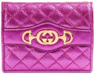 Gucci Quilted Leather Card Case