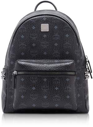 MCM Black Small-Medium Stark Backpack