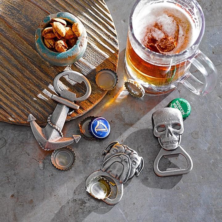 Williams-Sonoma Williams Sonoma Novelty Handheld Bottle Opener, Skull