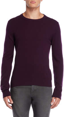 Maison Margiela Plum Pullover Wool Sweater
