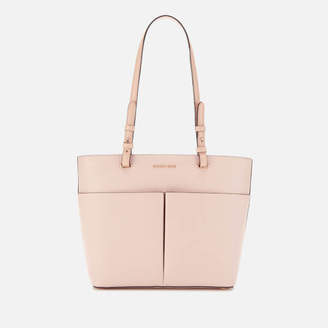 7fb70119 MICHAEL Michael Kors Women's Bedford Medium Top Zip Pocket Tote Bag