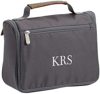 Pottery Barn Teen Atlas Charcoal Hanging Toiletry Bag