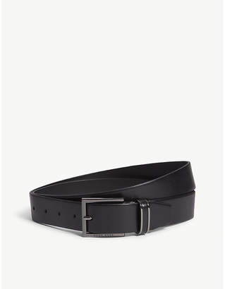 BOSS Canzion smooth leather belt
