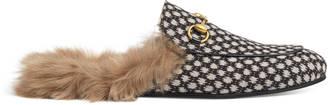 Princetown dot jacquard slipper $840 thestylecure.com