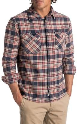 Quiksilver Tangloop Plaid Flannel Shirt