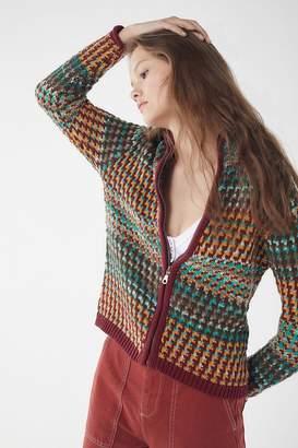 Urban Outfitters Zahn Zip-Up Sweater