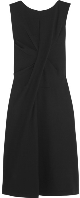 Jil Sander Gathered stretch modal-blend jersey dress