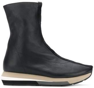 Manuel Barceló contrast-sole ankle boots