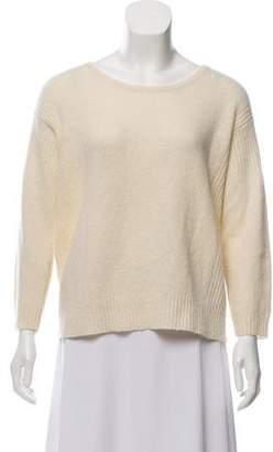 Halston Wool Long Sleeve Sweater