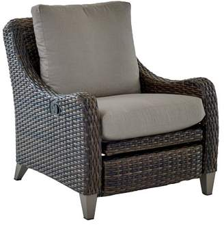 At Pottery Barn · Pottery Barn Abrego All Weather Wicker Occasional Chair