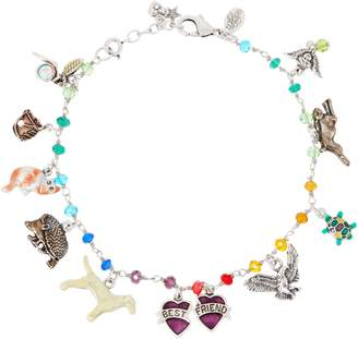 Kirks Folly Rainbow Bridge Adjustable Charm Anklet