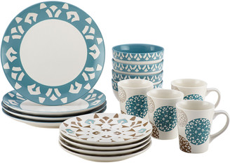 Meyer Rachael Ray Pendulum 16Pc Dinnerware Set