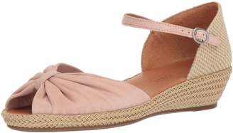 Gentle Souls by Kenneth Cole Women's Lucille Low Wedge Espadrille Sandal Sandal