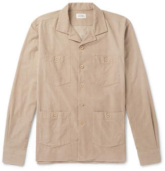 Hartford Pueblo Cotton-Corduroy Overshirt
