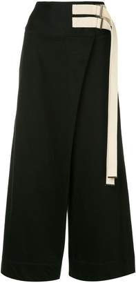 Y's straight fit skirt