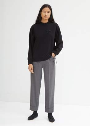 Simone Rocha Straight Trousers with Bow Pockets