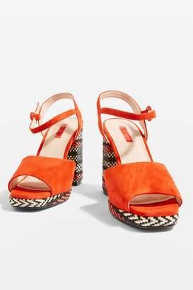 Topshop Laura Platform Heels