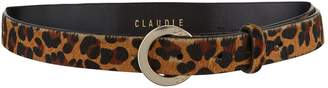 Claudie Pierlot Leopard Print Belt