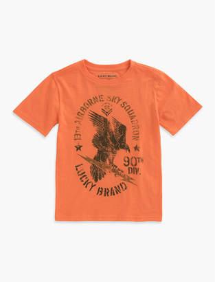 Lucky Brand Eagle Bolt Tee