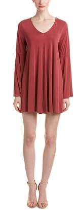 Dee Elly Dee Elle Bell-Sleeve Shift Dress