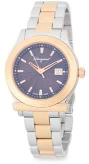 Salvatore Ferragamo Stainless Steel Bracelet Watch