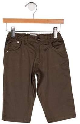 Armani Junior Boys' Five Pockets Straight-Leg Pants
