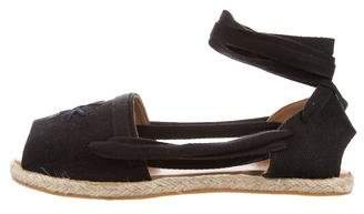 Creatures of Comfort Peep-Toe Espadrille Sandals