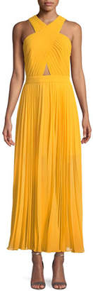 Joie Elenita Pleated Cocktail Dress