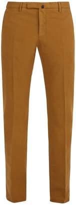 Incotex Slim-leg cotton-blend chino trousers