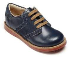 FootMates Baby's, Toddler's& Kid's Connor Leather Oxford Saddle Shoes