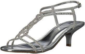 Kenneth Cole New York Unlisted by Kenneth Cole Women's Kind Gal 7 Kitten Heel Glitzy Wedge Sandal